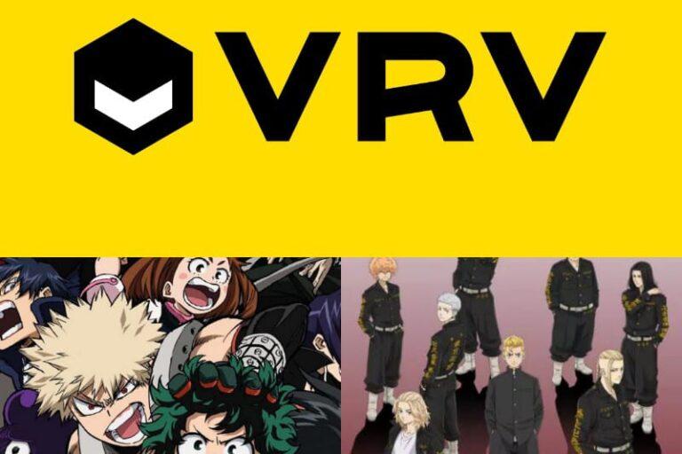 VRV Best Anime